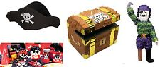 PIRATE FUN PARTY Tableware, party pack, decorations, pinata, balloons, hats