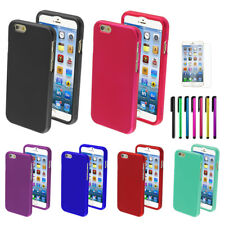 "Snap On Hard Plastic Design Shell Cover Case For Apple iPhone 6 4.7""+Pen+Film"