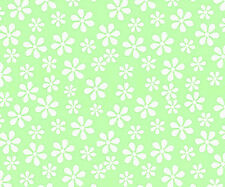 Sheetworld Pastel Floral Woven Mini Fitted Sheet