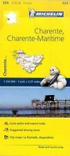 Charente, Charente-maritime, France Local Map 324 by Folded Book (English)