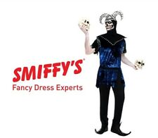 Smiffy's Corrupt Court Jester Adult Fancy Dress Male Skelton Custome