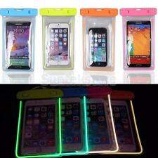 Luminous Waterproof Pouch Bag Case Touchscreen Cover For Cell Phone PDA Camera