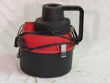 Used 12V portable wet/dry canister car vacuum