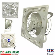 Extractor Metal Axial Exhaust Air Fan Blower Industrial Ventilation Commercial