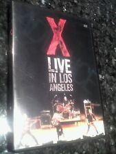 X - Live in Los Angeles (DVD, 2005)
