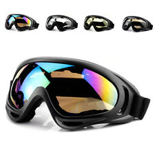 UV Sunglasses Anti fog Dust Wind Ski Snow Glasses Snowboard Helmet Goggles Ski