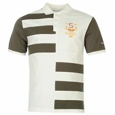 Pierre Cardin Mens Contrasting Stripe Polo Shirt Short Sleeve Casual Tee Top