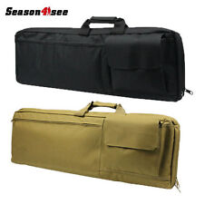 "33"" Inch Tactical Heavy Duty Shockproof Padded Rifle Gun Pouch Shoulder Case Bag"