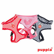 Choose Size & Color - PUPPIA - BEACH PARTY - Soft Dog Puppy Harness w Hoodie