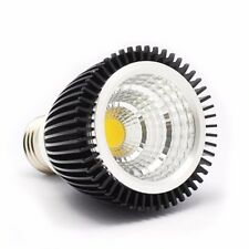 DC 12V COB LED black low heat aluminum spot lightbulb PAR16 50mm down lamp 4W 7W