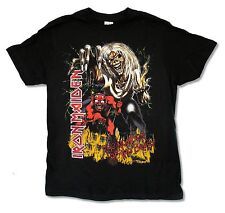 Iron Maiden The Number of the Beast Mens Black T Shirt New Official Music Band
