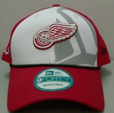 Detroit Red Wings NHL New Era 9Forty Snapback Hat - Free Shipping