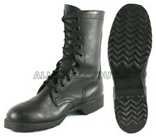 Lot US Military Ro-Search VIETNAM COMBAT BOOTS LEATHER Black USA MADE 3-14 NEW
