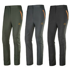 Mens Quick Dry Waterproof Hiking Fishing Outdoor Pants Anti-UV Stretch Trousers