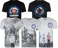 Mens Lambretta 'The Who' Target/Scooter MOD SKA Casual Tee T Shirt M to 2XL