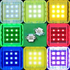 10W Cold Warm White Royal Blue Red Green Purple Cyan UV IR Power LED Light Lamp