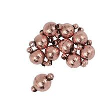10Sets 10mm/8mm/6mm Round Magnetic Clasps Jewelry Making Findings