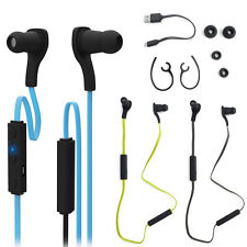 Bluetooth Wireless Stereo Mic Headphone Earphone Headset For iPhone Samsung LG