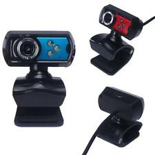 High Definition USB HD Webcam Camera Web Cam With Microphone LED For Computer