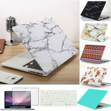 Bundle Rubberized Hardshell Hard Case + Keyboard Cover for Apple MacBook Air Pro
