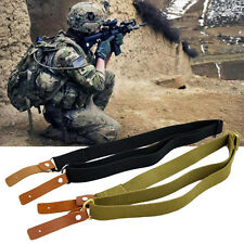 Military Airsoft Heavy Duty AK Rifle Sling Belt Tactical Gun Sling Strap 3 Color