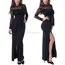 Sexy Lace Bodycon Bandage Evening Party Cocktail Gown Prom Maxi Dress Plus Size