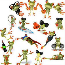 Simulation Gecko Frog Car Stickers Truck Window Decal Graphics Sticker Perfects