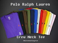 NWT LOT of 3 Polo Ralph Lauren Men's Pony Classic Fit Crew Neck T-Shirt Tee