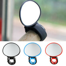 Bike Bicycle Cycling Bar End Mount Mirror 360° Rotate Handlebar Rearview Mirror