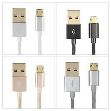 1M Alloy USB 2.0 to Double-side 5 Pin Micro Data Charging Cable for HTC UK O3O4