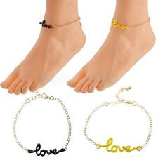 New Love Décor Barefoot Sexy Anklet Chain Colorful Ankle Bracelet Jewelry Gift