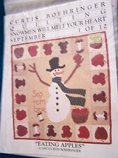 Curtis Boehringer Quilting Snowmen Will Melt your Heart your choice free ship