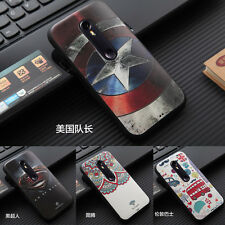 3D Embossed Painted Soft Silicone Back Cover Case For Motorola Moto G3 3rd Gen