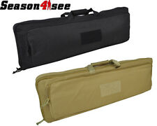 85cm 1000D Tactical Military Airsoft Dual Rifle Gun Bag Carrying Case Backpack