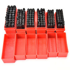 Steel Punch Stamp Die Set Metal 27pcs Stamps Letters Alphabet Craft Tools