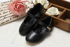 New Hot Kids Girls Boys Loafers Toddler Soft Leather Flats Casual Shoes