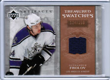 06/07 UD ARTIFACTS HCKY TREASURED SWATCHES JERSEY CARDS (TS-XX) U-Pick From List