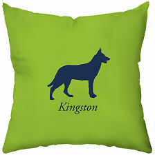 Checkerboard, Ltd Personalized German Shepherd Throw Pillow