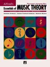 ESSENTIALS OF MUSIC THEORY - NEW PAPERBACK BOOK
