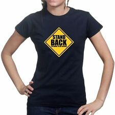 Stand Back Science Geek Nerd Project Ladies T shirt Funny Gift T-shirt Tee Top