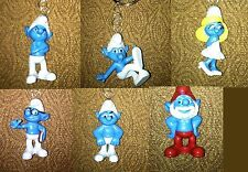Smurf Backpack Duffle Book Bag Charm Smurfette Papa Brainy Hefty Handy Grouchy