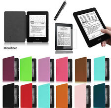 Ultra Slim PU Leather Case Cover For New Amazon Kindle Paperwhite 1st 2nd 3rd