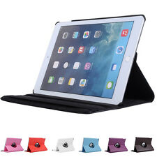 360 Degrees Rotating Folio Stand Case Cover Protector For Apple iPad AIR1/AIR2