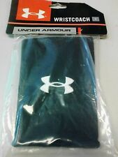Under Armour QB Wristband Quarterback Velcro Black YOUTH New In Package NWT