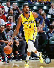 Paul George Indiana Pacers 2015-2016 NBA Action Photo SO240 (Select Size)