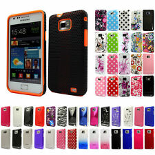Silicone TPU Gel Bumper Case Cover Sleeve Skin For The Samsung Galaxy S2 i9100