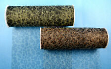 "6""x6 yards (18 FT) Leopard Print Animal Print Soft Tulle Fabric Rolls"