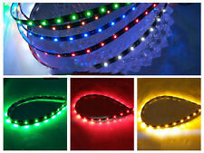 6 color 4x 30cm 15 SMD 3528 LED Flexible Strip Light Car Lamp Waterproof 12V