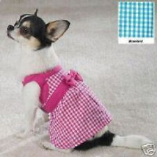EAST SIDE COLLECTION Gingham Dog Sundress LIMITED SIZES! CLEARANCE!