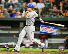 Josh Hamilton Texas Rangers MLB Licensed Fine Art Prints (Select Photo & Size)